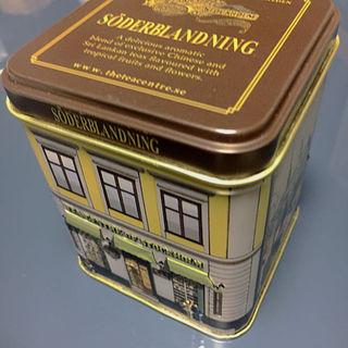 北欧紅茶 セーデルブレンドティー/スモールハウス缶(100g)(茶)