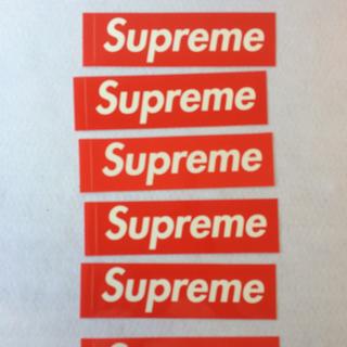 シュプリーム(Supreme)のSupreme ステッカー(その他)