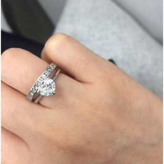 1カラットダイヤモンドリング 指輪(リング(指輪))