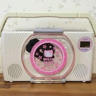 カシオ(CASIO)のキティ お風呂オーディオ(ポータブルプレーヤー)