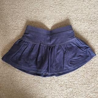 オールドネイビー(Old Navy)のオールドネイビー☆コットン☆パンツ付き☆スカート☆デニム風☆18-24m☆女の子(スカート)
