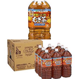 イトウエン(伊藤園)の伊藤園 健康ミネラルむぎ茶  2リットル×9本(健康茶)