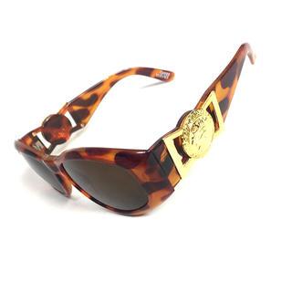 ジャンニヴェルサーチ(Gianni Versace)のヴェルサーチ サングラス べっ甲 ブラウン メデューサ (サングラス/メガネ)