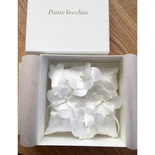 ポンテヴェキオ(PonteVecchio)のポンテヴェキオ*リングピロー*新品未使用(リングピロー)
