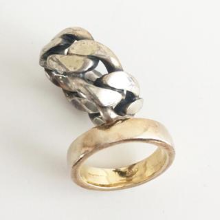 イオッセリアーニ(IOSSELLIANI)のイオッセリアー二  シルバーリング  2本セット(リング(指輪))