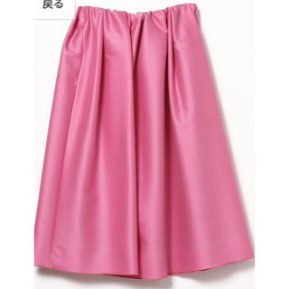 デミルクスビームス(Demi-Luxe BEAMS)のデミルクスビームス 大人気スカート(ひざ丈スカート)