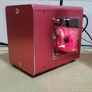 自作 ゲーミングPC Mini-ITX GTX1050TI デスクトップ(デスクトップ型PC)