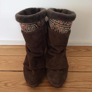 ジュコ(JUCO.)のJUCOかたまりスノーブーツ 24.5cm(ブーツ)