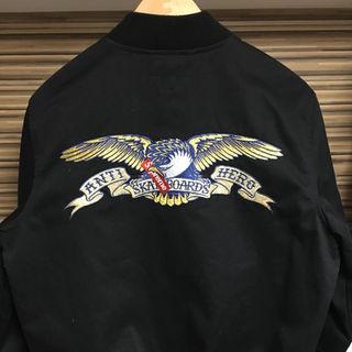 シュプリーム(Supreme)のsupreme antihero bomber jacket S(ブルゾン)