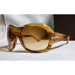 トムフォード(TOM FORD)の正規新古 トムフォード Stephanie サングラス 茶×ゴールド 付属品完備(サングラス/メガネ)