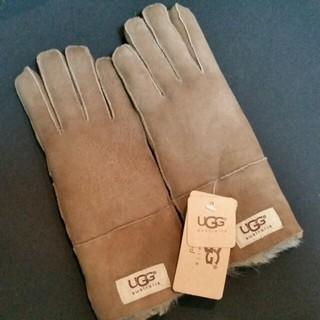 アグ(UGG)のUGG レディース本革手袋(手袋)