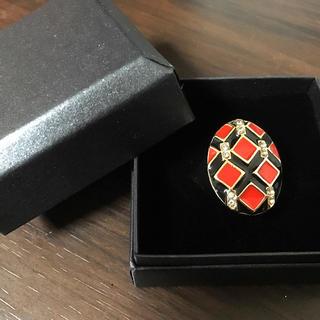 【値下げしました】新品 個性的なリング★7号サイズ 指輪(リング(指輪))