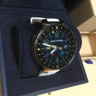 ルイヴィトン(LOUIS VUITTON)のヴィトン タンブール ホライゾン 時計 ラバーベルト(腕時計(デジタル))