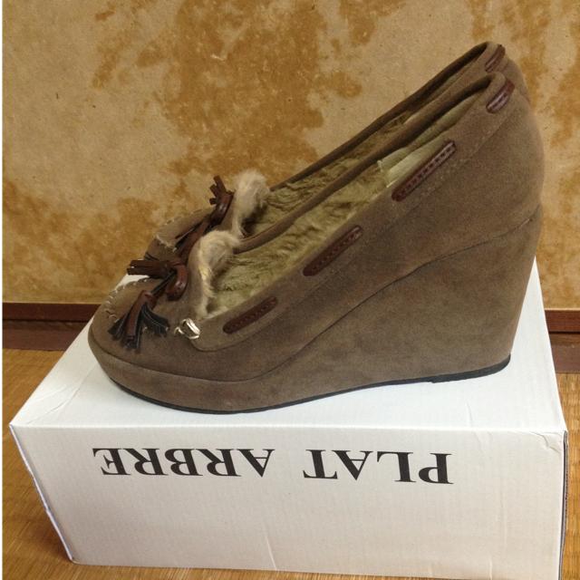 OPAQUE(オペーク)のウェッジソールパンプス レディースの靴/シューズ(ハイヒール/パンプス)の商品写真