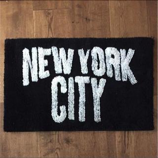 フリークスストア(FREAK'S STORE)のnew york city マット(玄関マット)