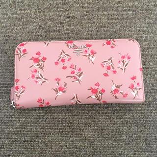 プラダ(PRADA)のPRADA 花柄 日本限定プリント 長財布(財布)