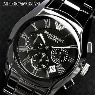 エンポリオアルマーニ(Emporio Armani)のエンポリオ アルマーニ セラミック時計 AR1400(腕時計(デジタル))