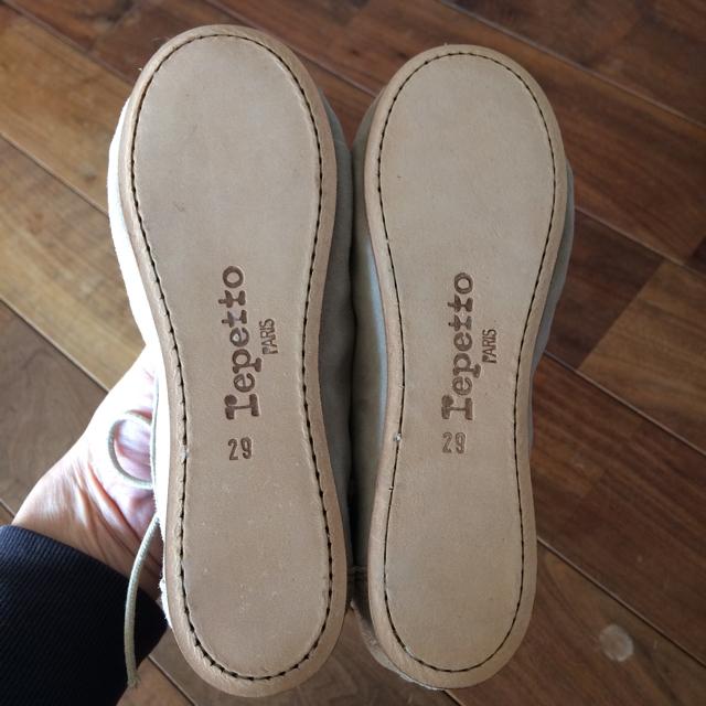 repetto(レペット)のrepetto レペット キッズ レースアップシューズ スエード 約17センチ キッズ/ベビー/マタニティのキッズ靴/シューズ (15cm~)(その他)の商品写真