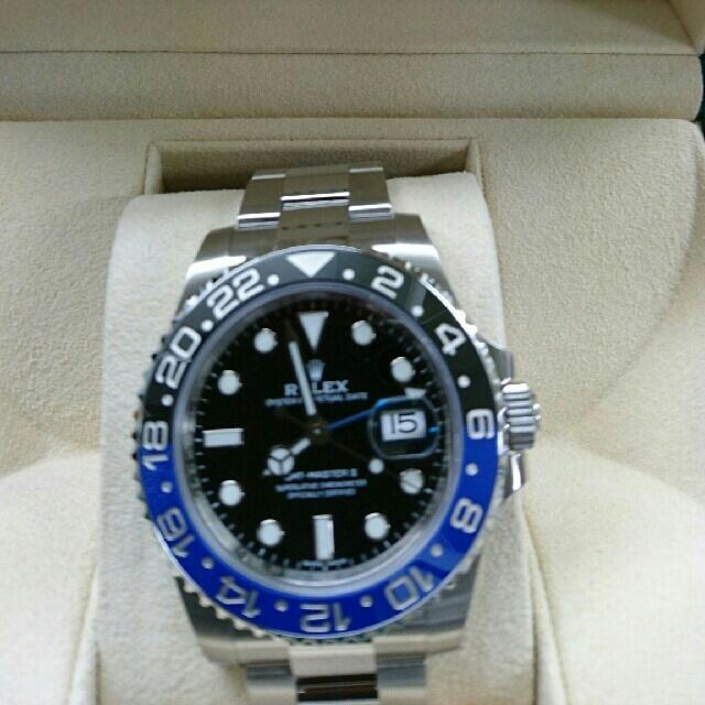 wholesale dealer bf38a a1be9 ROLEX GMTマスター2 116710BLNR(青黒) | フリマアプリ ラクマ