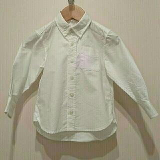 ムジルシリョウヒン(MUJI (無印良品))の【無印キッズ】白いシャツ(ブラウス)