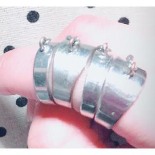 マウジー(moussy)のmoussy チェーンリング(リング(指輪))