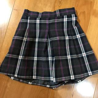 ジーユー(GU)のGUキュロットスカート140cm(スカート)