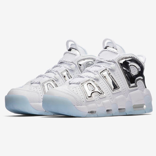 ナイキ(NIKE)のPANDA様専用 W27 M26 AIR MORE UPTEMPO CHROME(スニーカー)