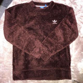 アディダス(adidas)のadidas Original brown tops(Tシャツ/カットソー(七分/長袖))