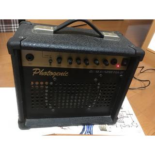 フォトジェニック(Photogenic)のエレキギターアンプphotogenicPGA-20オーバードライブイコライザー(ギターアンプ)