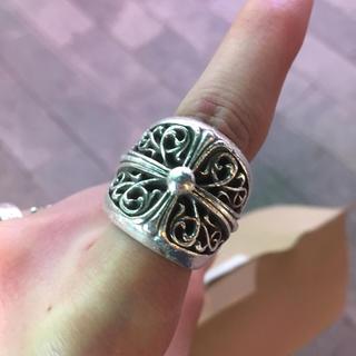 クロムハーツ(Chrome Hearts)のクロムハーツ オーバルクロスリング(リング(指輪))