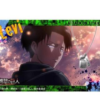 進撃の巨人 キャラ&アクセサリー Bリヴァイ ペンダント ブロマイド(アニメ/ゲーム)