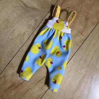 #25 アヒルさんサロペ(水色)(人形)