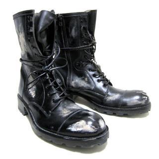テットオム(TETE HOMME)の新品!◆TETE HOMME ダメージ加工 ブーツ◆テットオム(ブーツ)