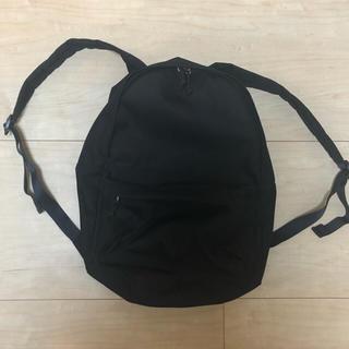 ムジルシリョウヒン(MUJI (無印良品))の無印良品 サイドファスナーポケット付き(リュック/バックパック)