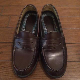 セダークレスト(CEDAR CREST)のローファー ブラウン 25.0㎝(ローファー/革靴)
