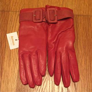 バーニーズニューヨーク(BARNEYS NEW YORK)のアドリマル ADRIMAR イタリア製 革・カシミア(手袋)