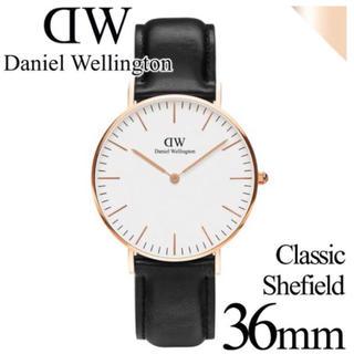 ダニエルウェリントン(Daniel Wellington)の【ダニエルウェリントン】腕時計 シェフィールド ホワイト 36mm(腕時計(アナログ))
