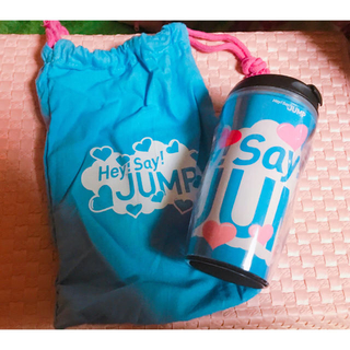 ヘイセイジャンプ(Hey! Say! JUMP)の【未使用】Hey!Say!JUMP タンブラー(アイドルグッズ)