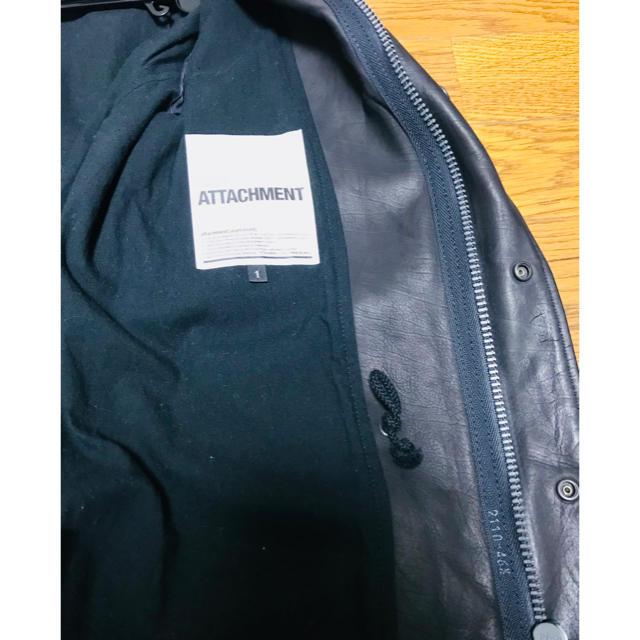 ATTACHIMENT(アタッチメント)の名品 アタッチメント オイルレザーM65 メンズのジャケット/アウター(レザージャケット)の商品写真