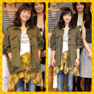リリーブラウン(Lily Brown)のディアシスター♡バックリボンネルシャツ(シャツ/ブラウス(長袖/七分))