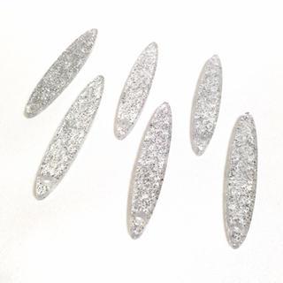 キワセイサクジョ(貴和製作所)の帯飾りプレート【6枚セット】(各種パーツ)