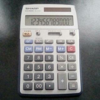 シャープ(SHARP)の電卓 シャープ EL-G34 12桁(その他)