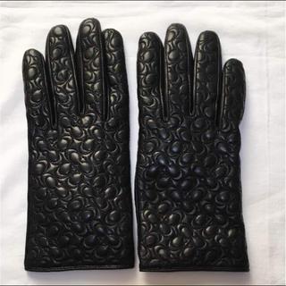 コーチ(COACH)の新品未使用 コーチ  手袋 グローブ  レザー (手袋)