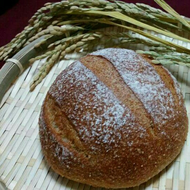 春までもう少し頑張ろう米糠カンパーニュ4個セット 食品/飲料/酒の食品(パン)の商品写真