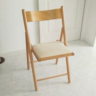 ムジルシリョウヒン(MUJI (無印良品))の無印良品 折り畳み式 椅子 チェアー(折り畳みイス)