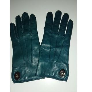 コーチ(COACH)のCOACH コーチ  レザー手袋  未着用(手袋)