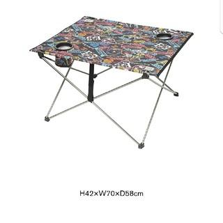 ヒステリックグラマー(HYSTERIC GLAMOUR)のHYSTERIC GLAMOUR ノベリティー テーブル(アウトドアテーブル)