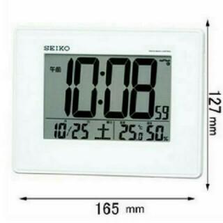 セイコー(SEIKO)のセイコー クロック 電波 SQ770W デジタル めざまし時計(置時計)