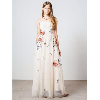 リリーブラウン(Lily Brown)の希少 ANNIVERSARY Blooming Lily DRESS 50着限定(ロングドレス)
