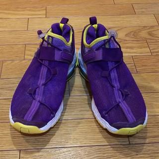 リーボック(Reebok)のreebok DMX 6 紫×黄色×白  イージートーン 23.5(シューズ)